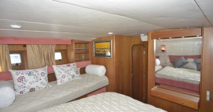 Location bateau Sant Antoni de Calonge pas cher Bordogna Pacifico 77