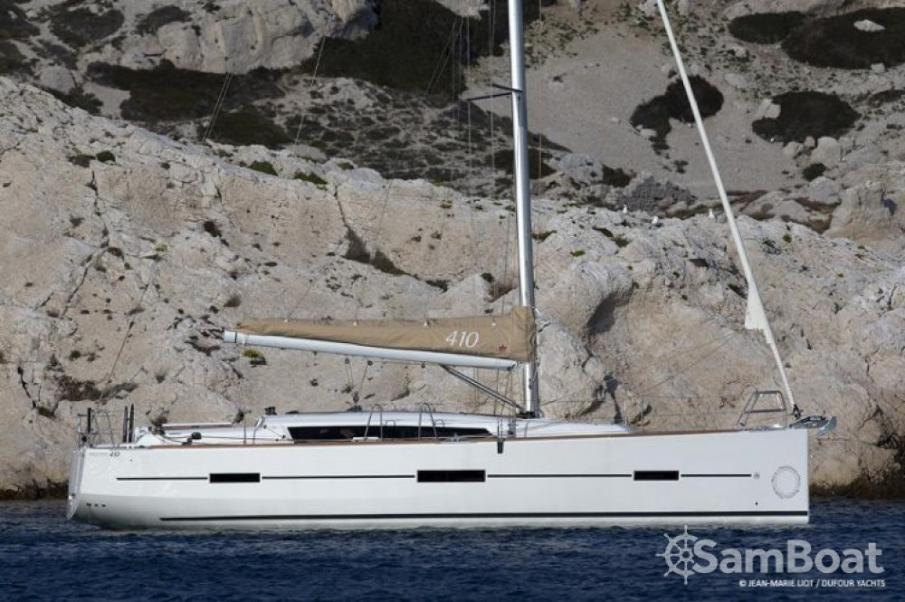 Rental yacht  - Dufour Dufour 410 Grand Large on SamBoat
