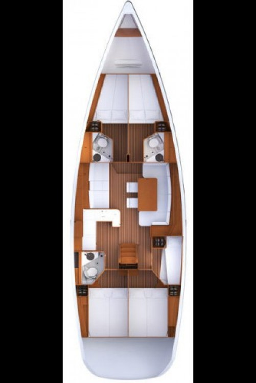 Alquiler de yate Il-Kalkara - Jeanneau Jeanneau 53 en SamBoat
