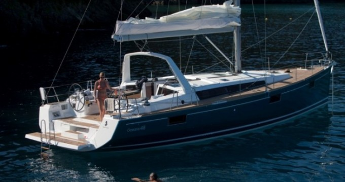 Boat rental Malta cheap Oceanis 48
