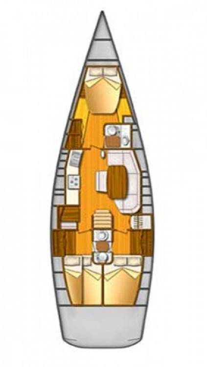 Alquiler Velero en Split - Comar-Yachts Comet 45s