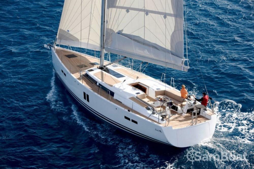 Rental Sailboat in  - Hanse Hanse 445