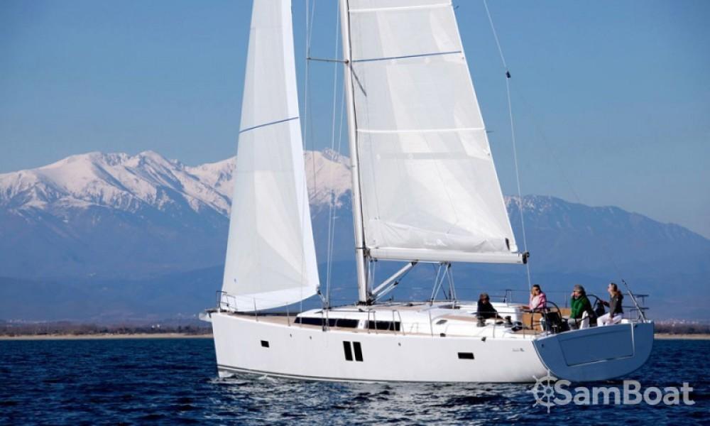 Alquiler de barcos Split barato de Hanse 495