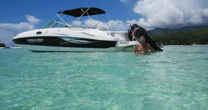 Location bateau Mahé pas cher 2400