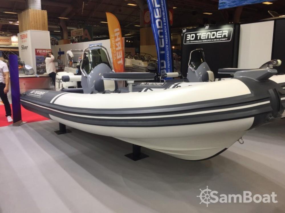 Huur Rubberboot met of zonder schipper 3D Tender in Porto-Vecchio