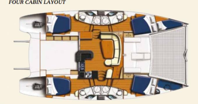 Location Catamaran à Dependencias Federales - Leopard Leopard 46