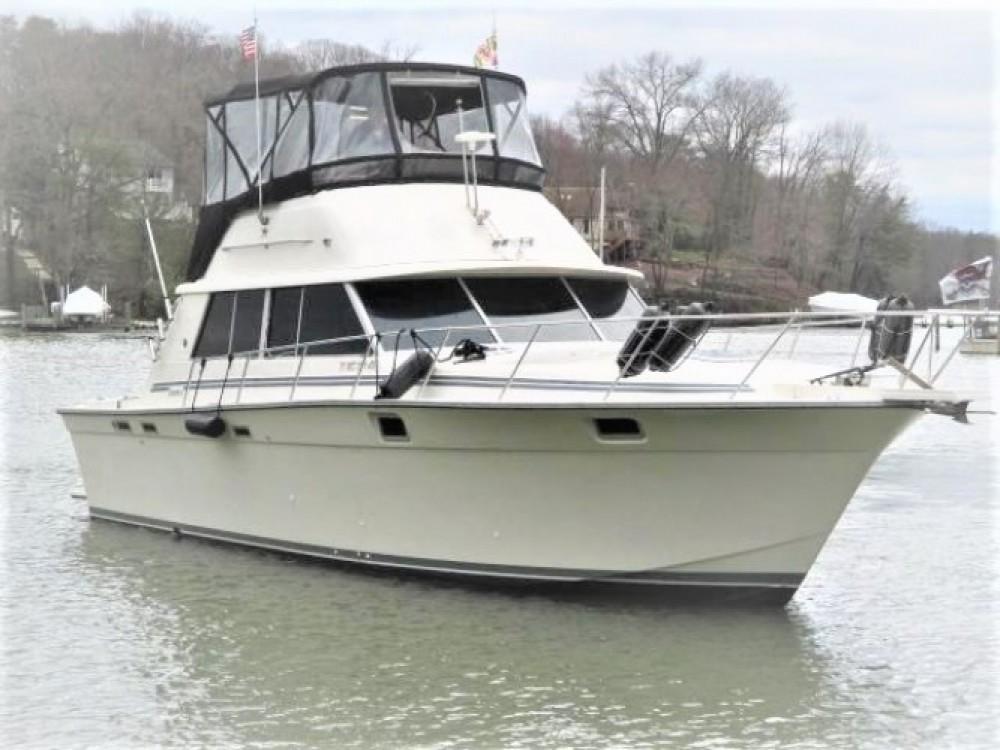 Location Bateau à moteur Silverton-Yacht avec permis