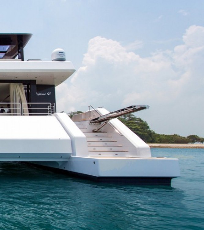Rental Yacht Sunreef with a permit