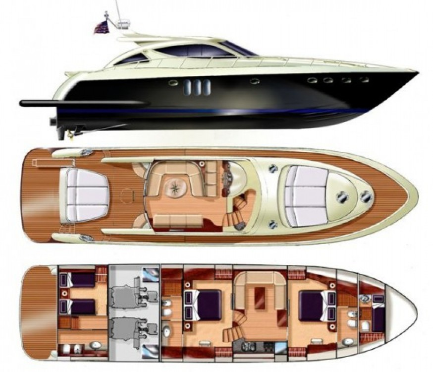"Rental Yacht in Cannes - Gianetti 20.60 metres (67' 7"")"