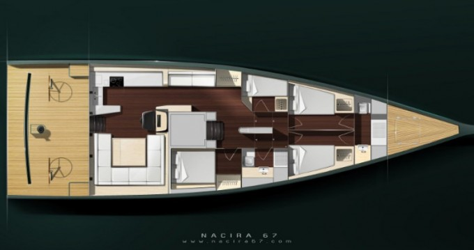 """Location yacht à Antibes - Maxi-Dolphin 22.40 metres (73' 6"""") sur SamBoat"""