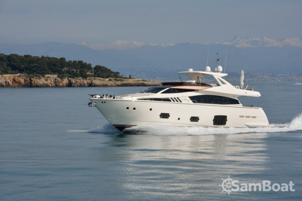 "Rent a Ferretti 24.71 metres (81' 1"") Cannes"