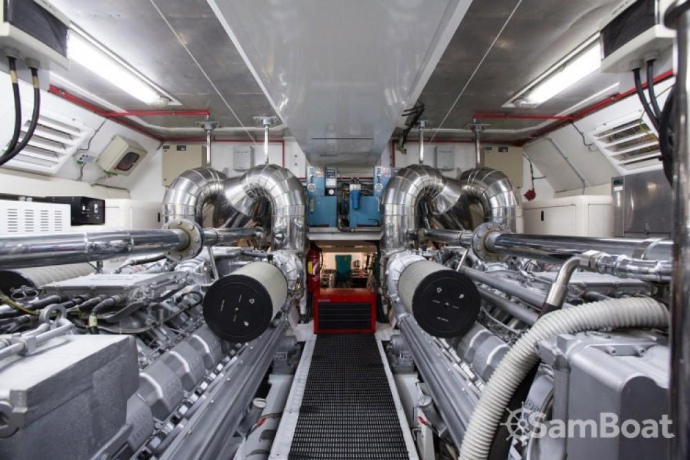 "Rental yacht Cannes - Mangusta 28.06 metres (92' 1"") on SamBoat"