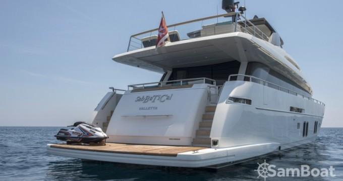 "Location bateau San Lorenzo 29.10 metres (95' 6"") à Antibes sur Samboat"