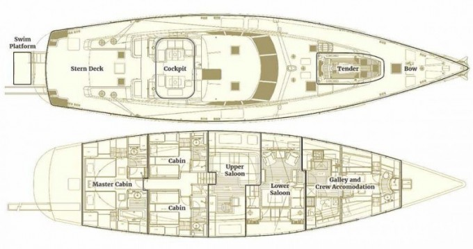 """Louez un Pendennis 29.15 metres (95' 8"""") à Antibes"""