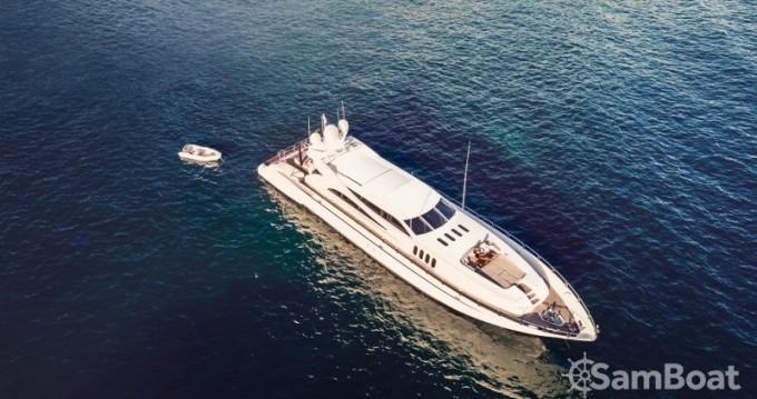 "Location bateau Andrea-Bacigalupo 34.11 metres (111' 11"") à Cannes sur Samboat"