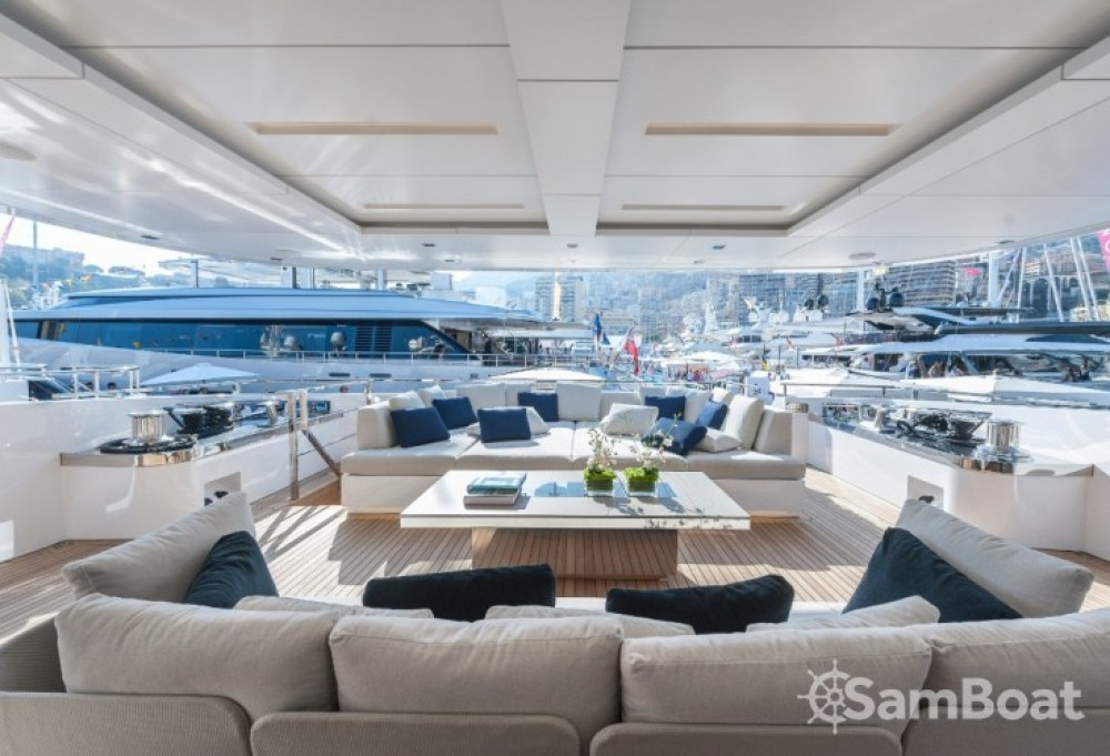 Hire Yacht with or without skipper Admiral Monaco