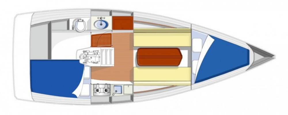 Rental Sailboat Rm with a permit