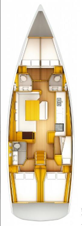 Alquiler de yate Croacia - Jeanneau Sun Odyssey 519 en SamBoat