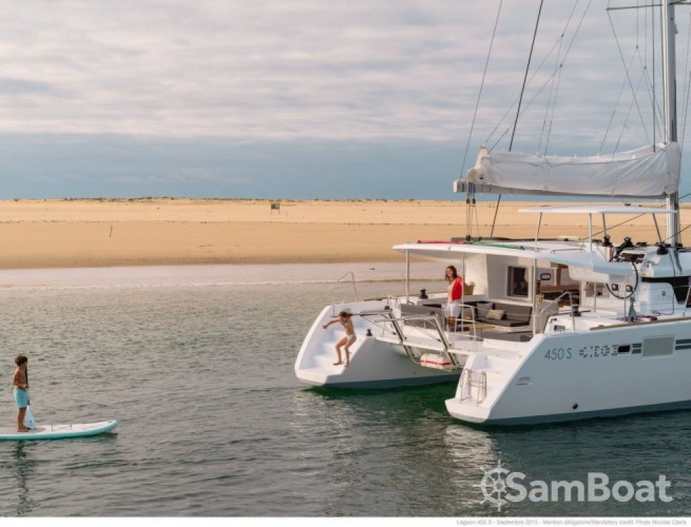 Alquiler de barcos Split barato de Lagoon 450