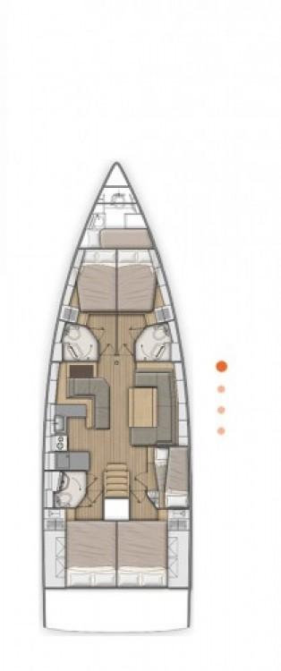 Alquiler de yate Croacia - Bénéteau Oceanis 51.1 en SamBoat