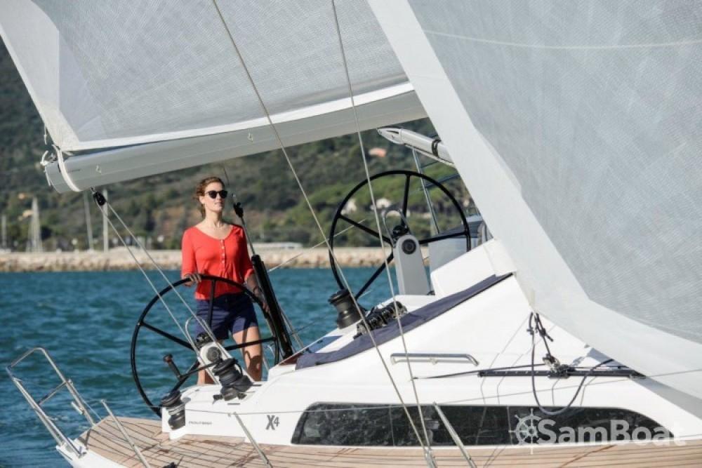 Alquiler Velero X-Yachts con título de navegación