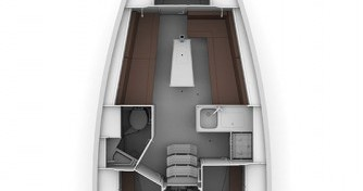 Bavaria Cruiser 34 entre particuliers et professionnel à Lavagna