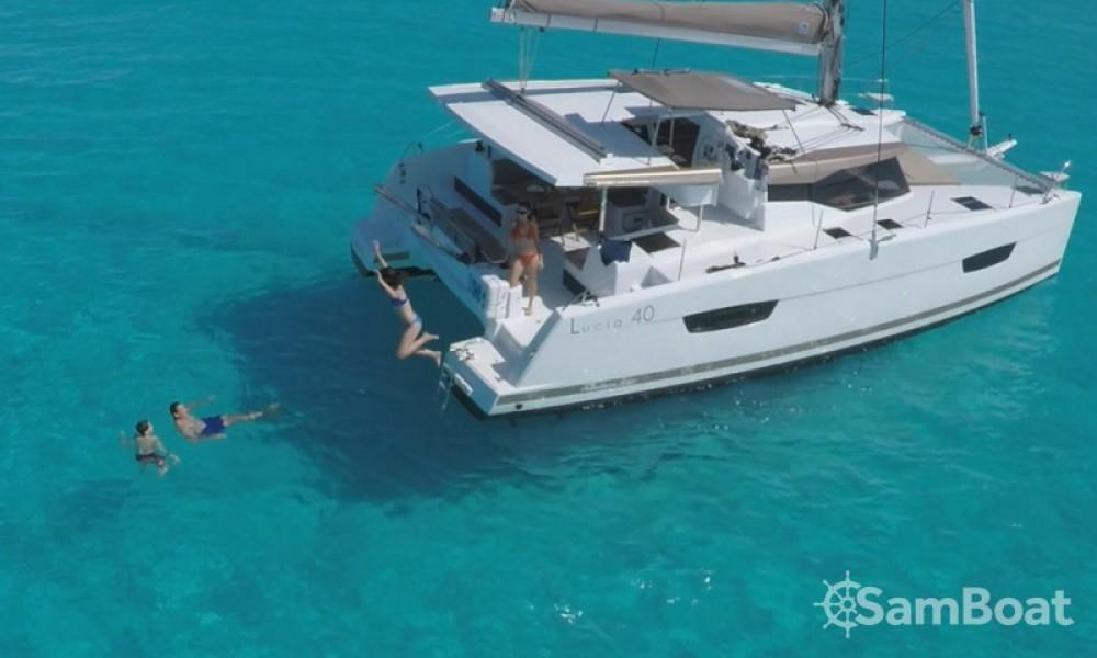 Alquiler de yate Croacia - Fountaine Pajot Lucia 40 en SamBoat