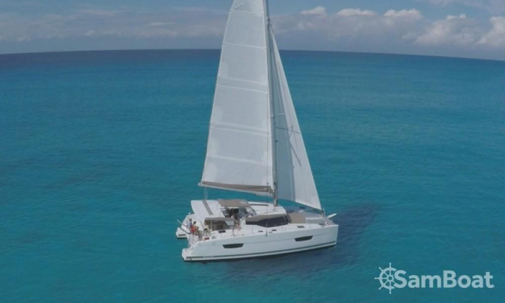 Alquiler de barcos Fountaine Pajot Lucia 40 enCroacia en Samboat