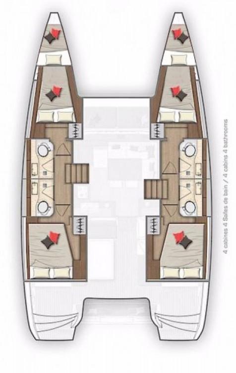 Alquiler de barcos Croacia barato de Lagoon 40 - 4 + 2 cab