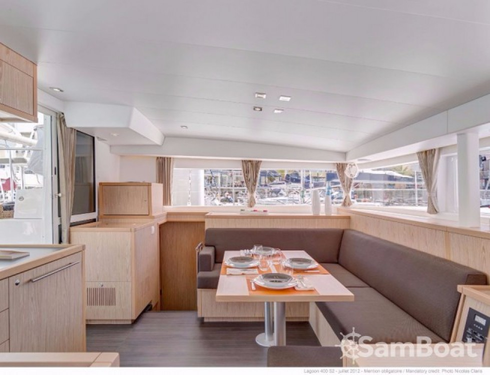 Boat rental Trogir cheap Lagoon 400