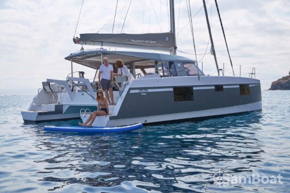Location Catamaran Bavaria avec permis