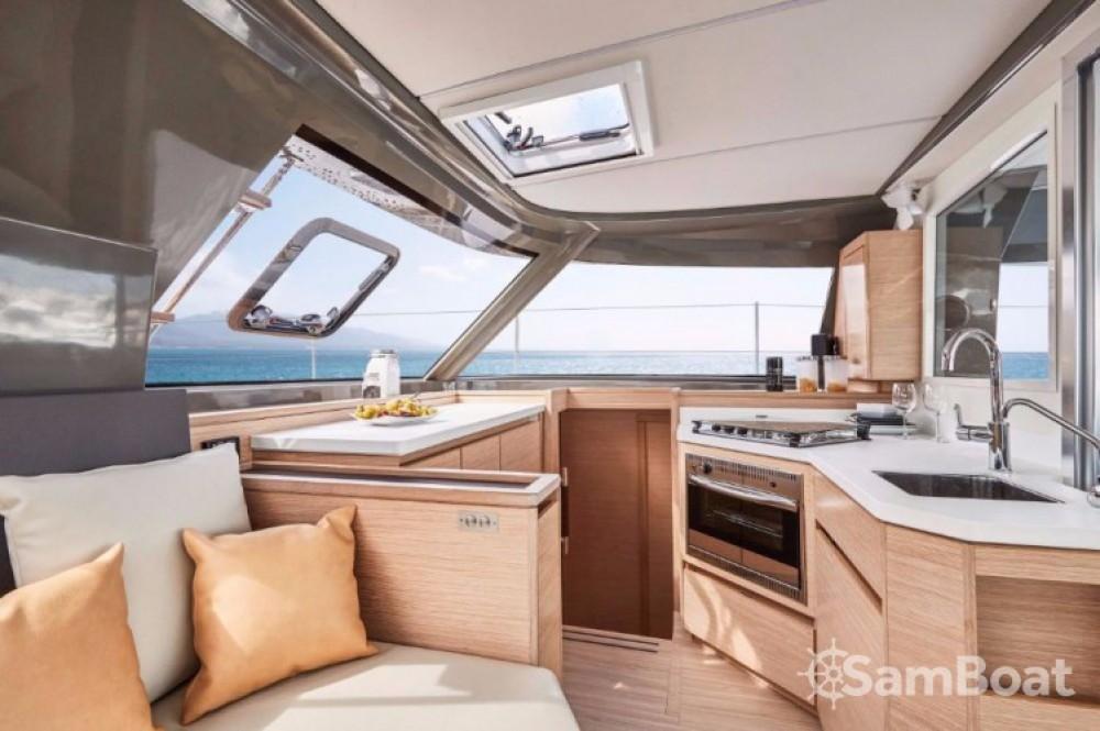 Location bateau Leucade pas cher Nautitech 40 open NEW - 4 + 2 cab.