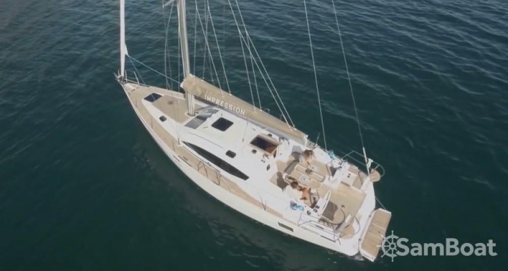 Alquiler de barcos Croacia barato de Elan Impression 45