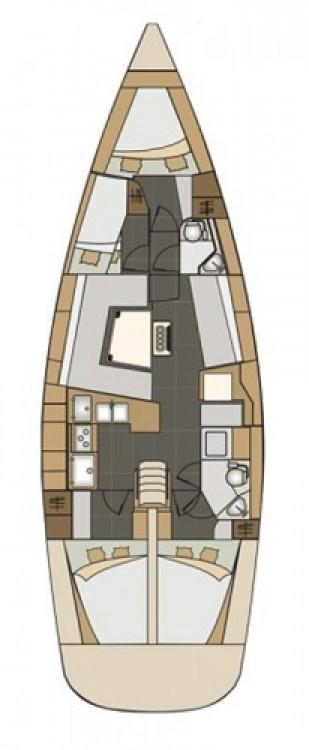 Rental Sailboat in Croatia - Elan Elan Impression 45