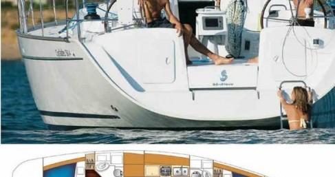 Bénéteau Cyclades 50.4 entre particuliers et professionnel à Naples
