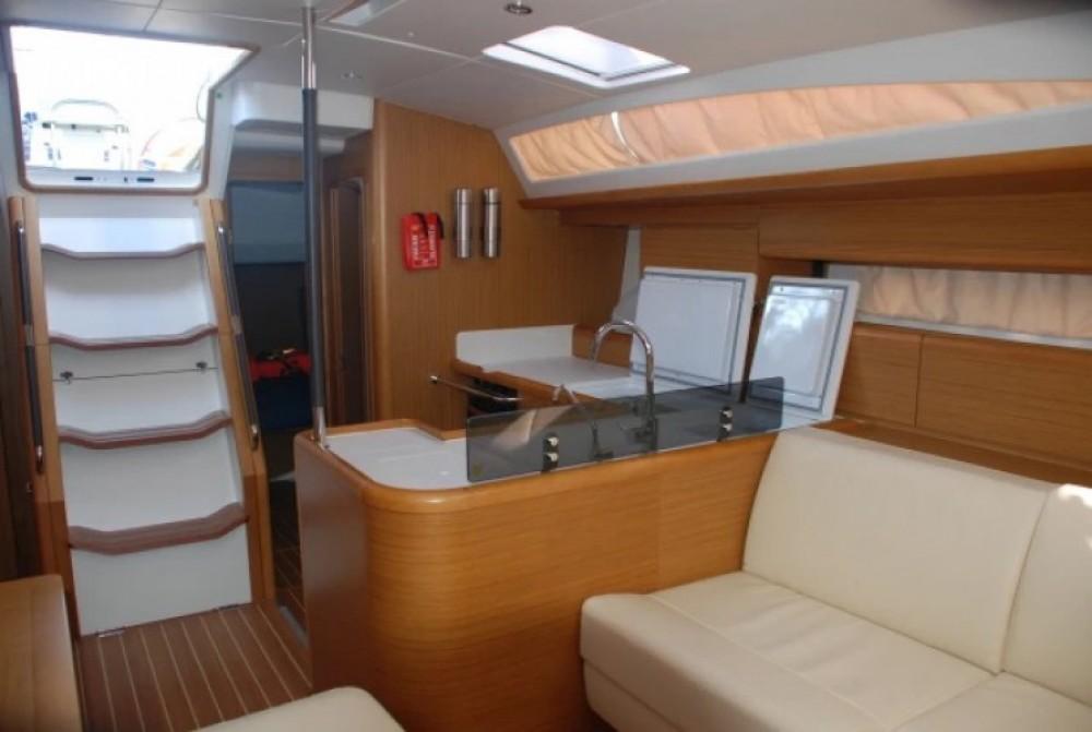 Boat rental Naples cheap Jeanneau 53