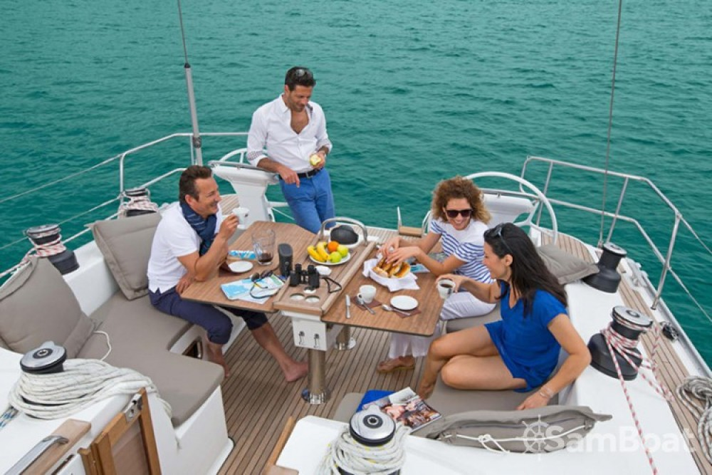 Bavaria Cruiser 51 between personal and professional Grèce-Centrale