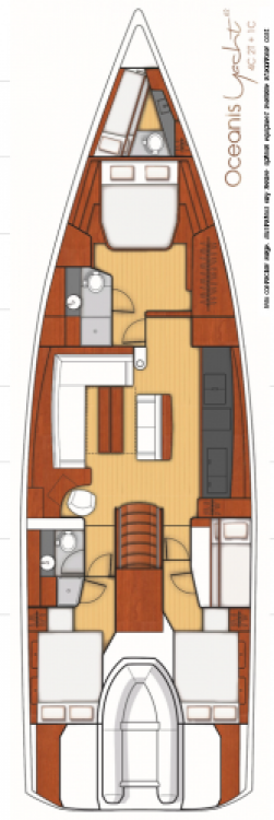 Alquiler Velero en Seget Donji - Bénéteau Oceanis Yacht 62