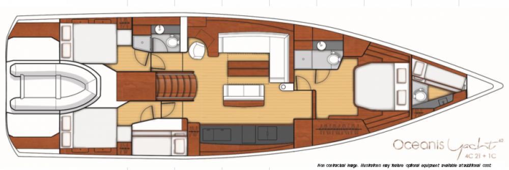Alquiler de Bénéteau Oceanis Yacht 62 en Seget Donji