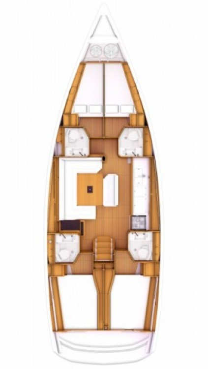 Jeanneau Sun Odyssey 479 entre particulares y profesional Seget Donji