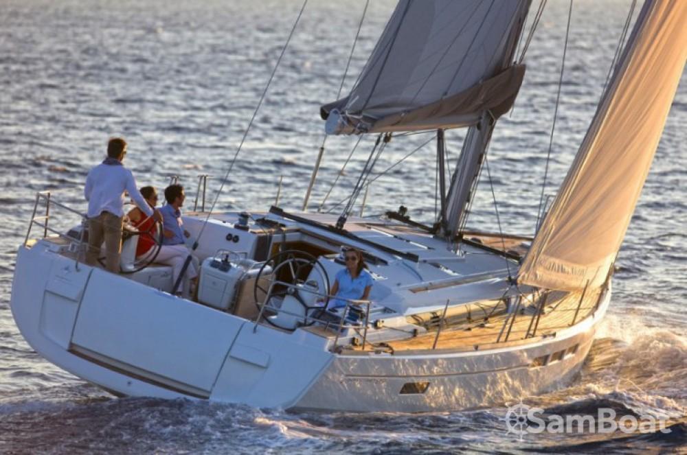 Location bateau Jeanneau Sun Odyssey 519 à Grèce-Centrale sur Samboat