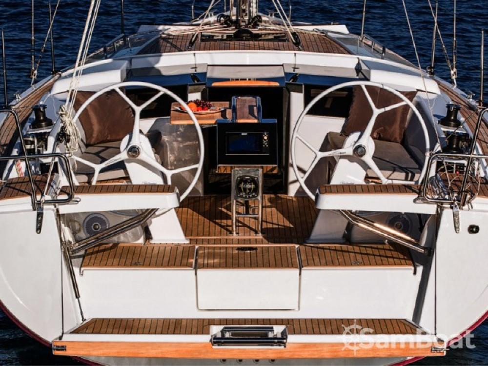 Alquiler Velero Hanse con título de navegación