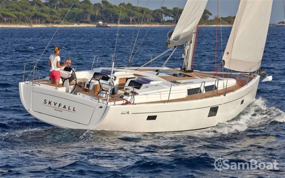 Boat rental Hanse Hanse 455 in Croatia on Samboat