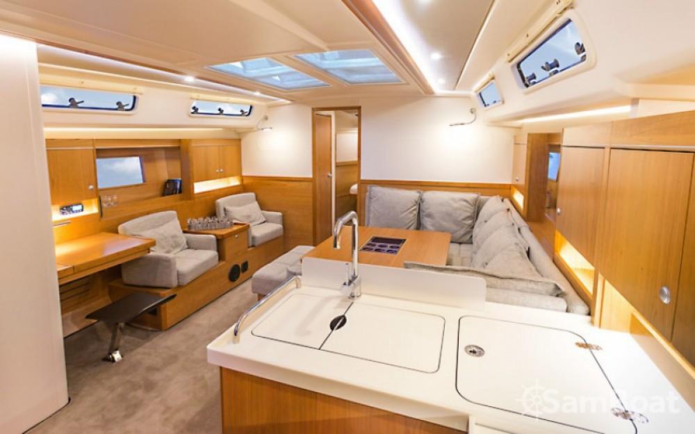Boat rental Croatia cheap Hanse 455