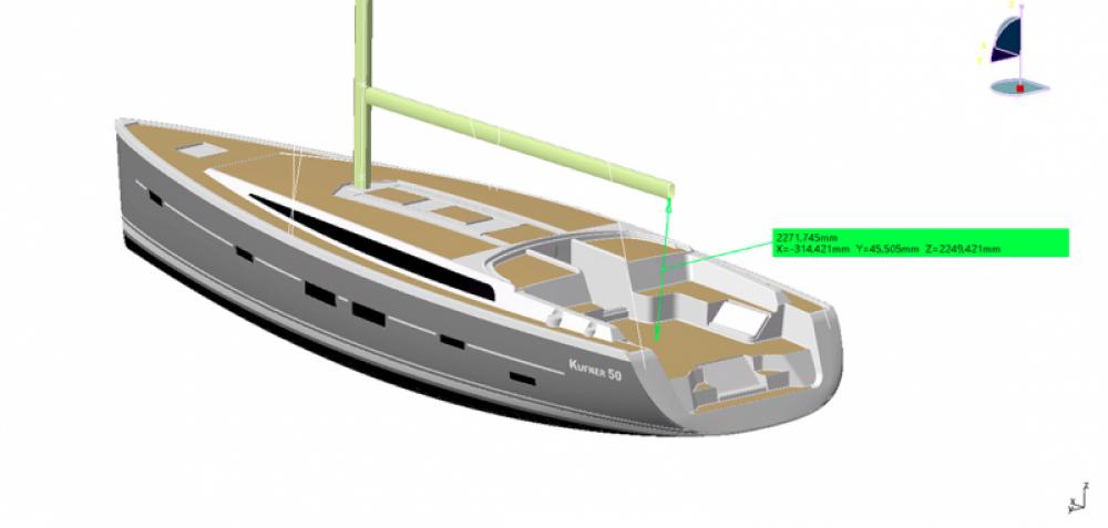 Alquiler Velero Dd Yacht con título de navegación