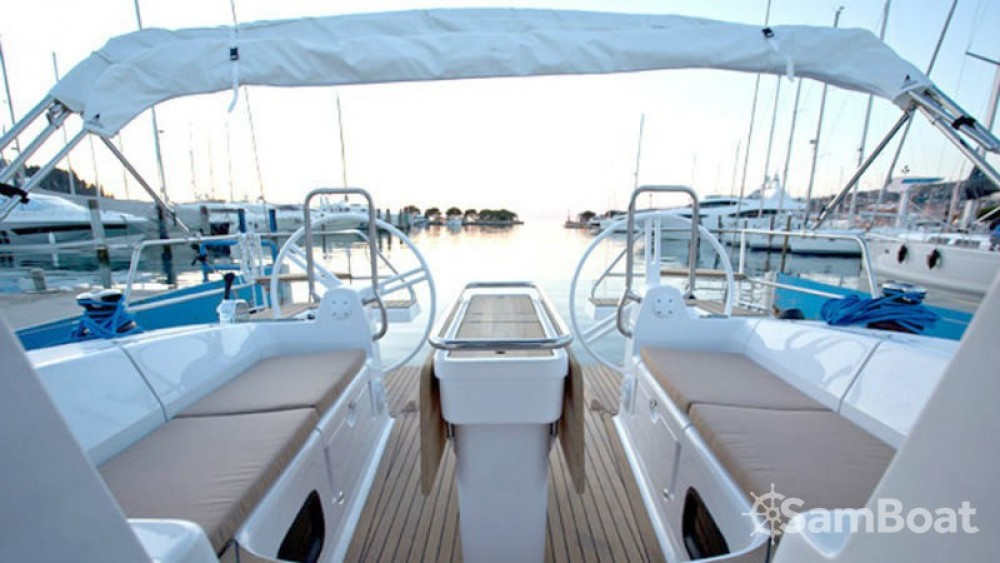 Boat rental Zadar cheap Elan Impression 45