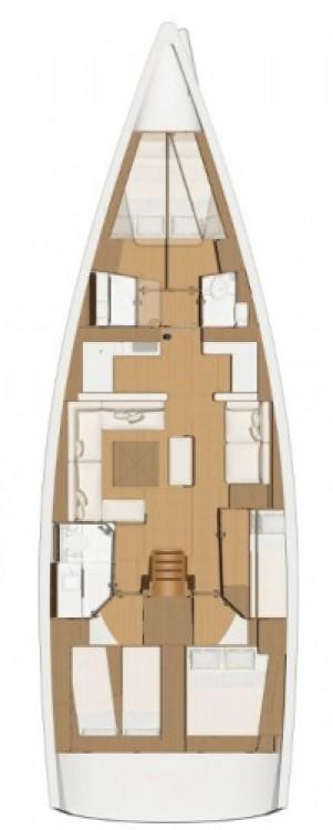 Boat rental Croatia cheap Dufour 520 Grand Large