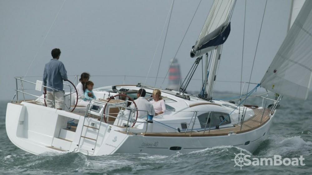 Boat rental Marmaris Yacht Marina A.Ş cheap Oceanis 40
