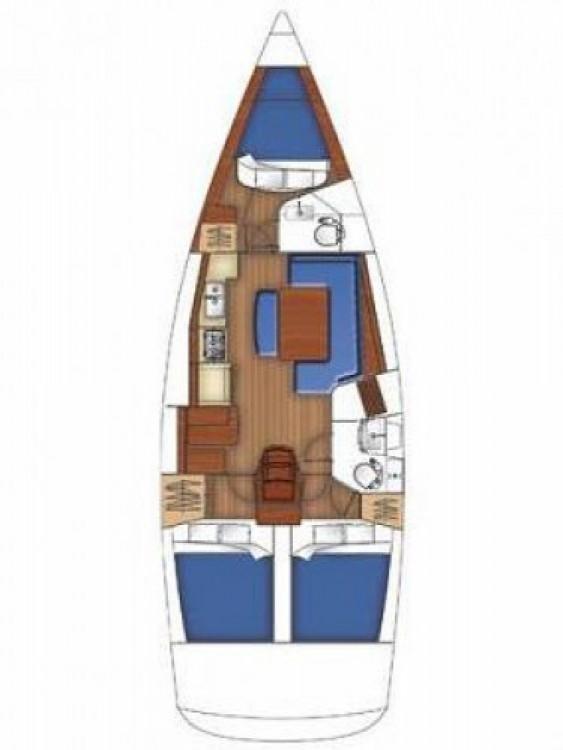 Bénéteau Oceanis 40 between personal and professional Marmaris Yacht Marina A.Ş