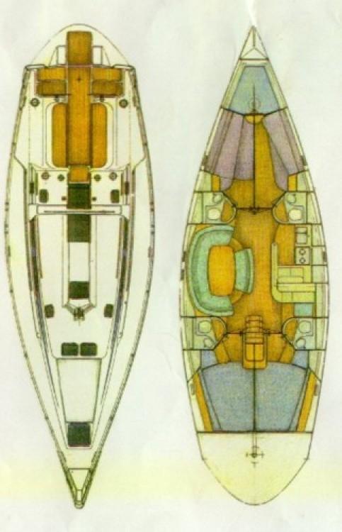 Noleggiare un'Holand-Boats Atlantic 49 Λαύριο
